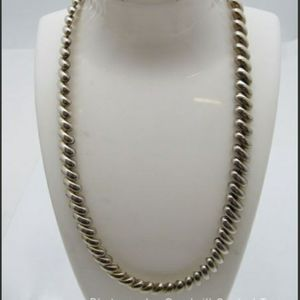 Jewelry - Vintage Sterling Italian San Marco Necklace